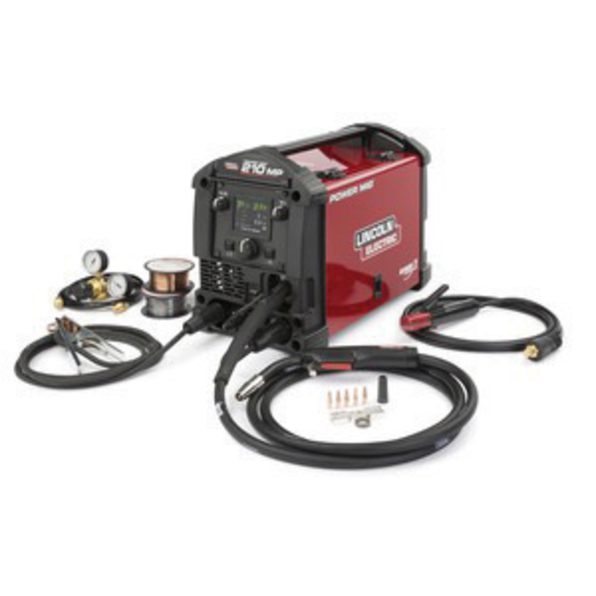 Airgas - LINK3963-1 - Lincoln Electric® POWER MIG® 210 MP MIG ...
