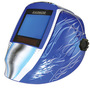 RADNOR® RDX81 Blue Welding Helmet With 5