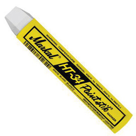Markal® HT-34® Paintstik® White King Size Solid Paint Marker With 3/8