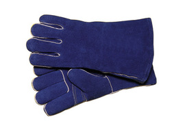 Radnor® Large 14 Blue Shoulder Split Cowhide Cotton / Foam Lined Welders Gloves