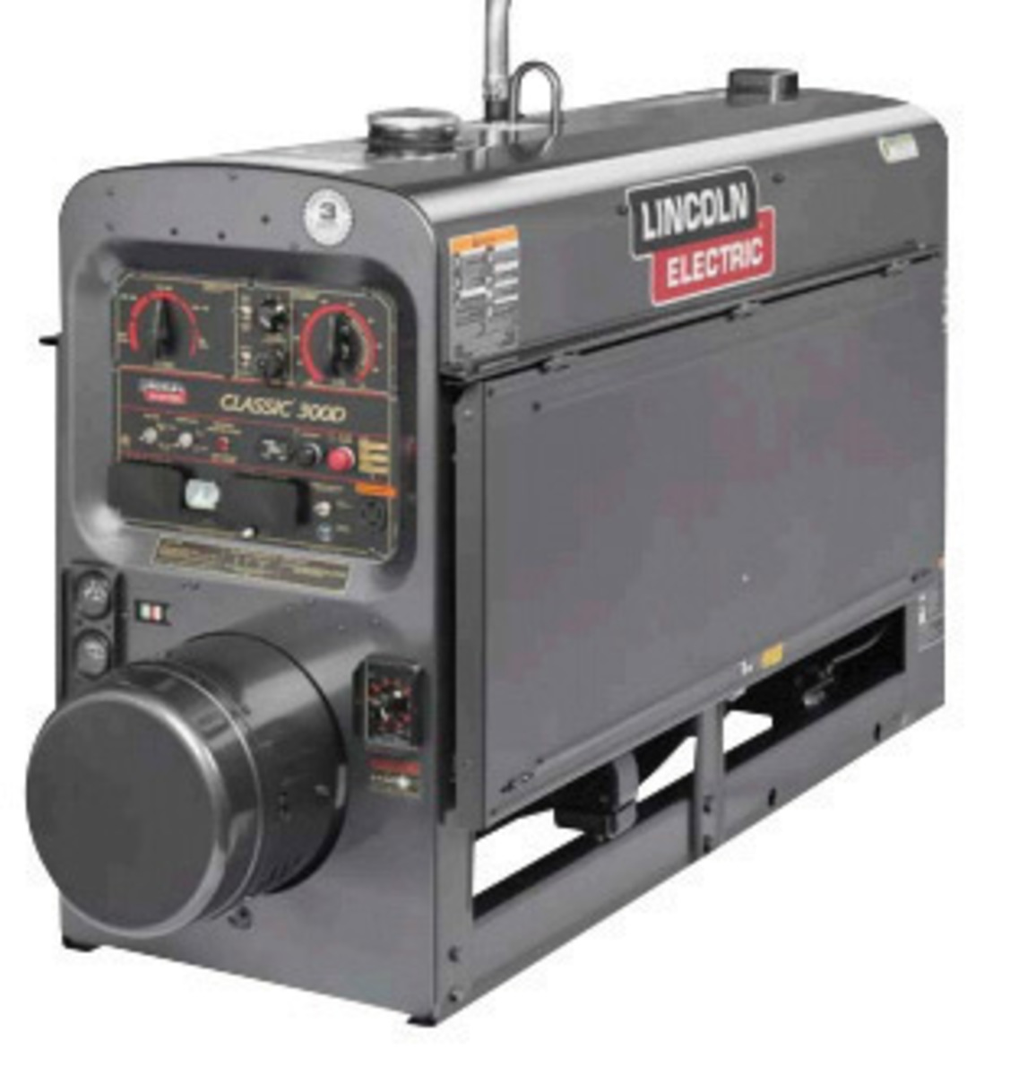 Lincoln ElectricR ClassicR 300D One PakR Engine Drive Welder With 4 Cylinder
