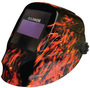 RADNOR® RD48 Black/Orange Welding Helmet With 5