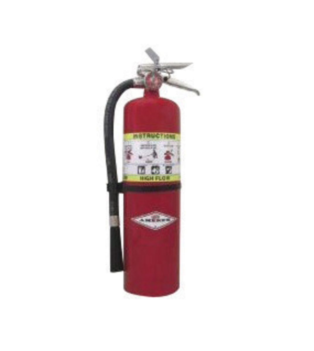AmerexR 10 Pound ABC Dry Chemical 1A20BC High Flow Portable Fire