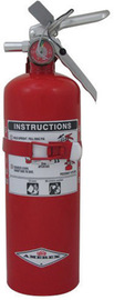 Amerex® 5 Pound Stored Pressure Regular Dry Chemical 10-B:C Fire Extinguisher For Class B And C Fires With Anodized Aluminum Valve, Vehicle/Marine Bracket And Nozzle