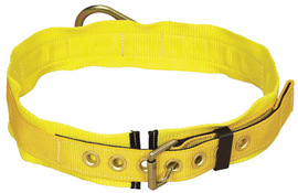 """3M™ DBI-SALA® Medium 36"""" - 44"""" Delta™ 1 3/4"""" Polyester Web Body Belt With Back D-Ring, Tongue Buckle And 3"""" Body Pad 