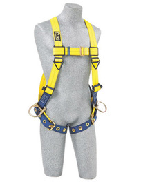 3M™ DBI-SALA® Universal Delta™ No-Tangle™ Full Body/Vest Style Harness With Back And Side D-Ring And Tongue Leg Strap Buckle | Tuggl