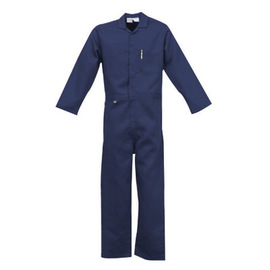 Stanco Safety Products™ Size 3X Navy Blue Indura® UltraSoft® Arc Rated Flame Resistant Coveralls With Front Zipper Closure