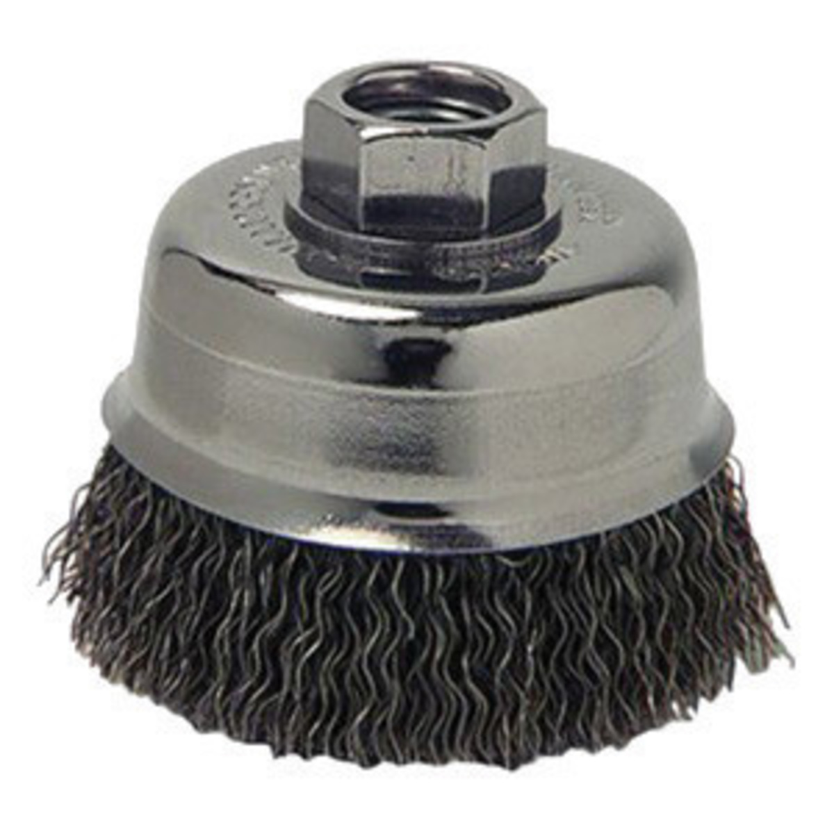 Luomorgo 2 Pcs 4 Wire Wheel Brush /& Wire Cup Brush with M14 x 2mm Threaded Arbor for Grinders Twist Knotted Angle Grinders