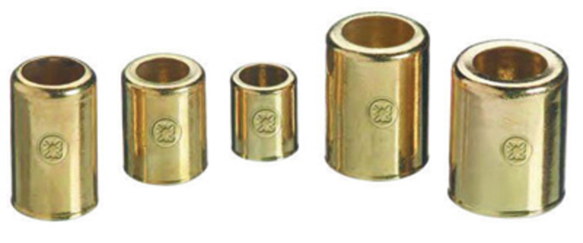 airgas wes769 western id x 9 16 l brass hose ferrule with cdr 41 ribbing recommended. Black Bedroom Furniture Sets. Home Design Ideas