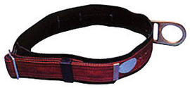 """MSA Standard 2"""" Nylon Web Body Belt With Single Pass Friction Buckle, (1) Fixed D-Ring And 3"""" Body Pad 