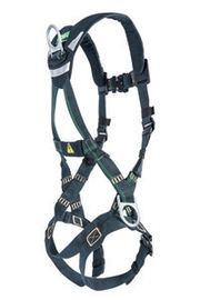 MSA Standard EVOTECH® Arc Flash Full-Body Harness With Back And Hip Steel D-Rings, Quick-Connect Leg Straps And Shoulder Padding