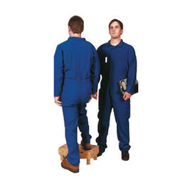 Stanco Safety Products™ 3X Navy Blue Nomex® IIIA Arc Rated Flame Resistant Winter Coveralls Modaquilt Lining With Concealed 2-Way Front Zipper Closure And 1 (5.7 cal/sq-cm)