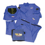 Stanco 2X Royal Blue Indura® Ultra Soft® Level 2 Flame Resistant Arc Flash Personal Protection Equipment Kit