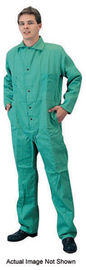 Tillman® 2X Navy Blue Cotton FR-7A® Westex® Coveralls With Snap Front Closure