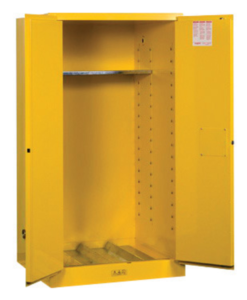 Yellow Flammable Cabinet Airgas Jtr896200 Justriter 55 Gallon Yellow Sure Gripr Ex 18