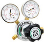 Harris® Model 25GX-145-580 Medium to Heavy Duty Argon, Helium Or Nitrogen Calibration Single Stage Regulator, CGA-580