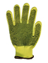 Radnor® Small 100% DuPont™ Kevlar® Brand Fiber Cut Resistant Gloves With PVC Dot Coating On Both Sides