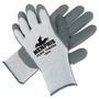 Memphis Glove X-Large Gray FlexTherm® Acrylic, Cotton And Polyester Cold Weather Gloves With Knit Wrist And Gray Latex Palm Coating