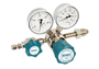 Airgas High Purity Brass Single Stage Gas Regulator, 0 - 50 psig Outlet Pressure, CGA-580