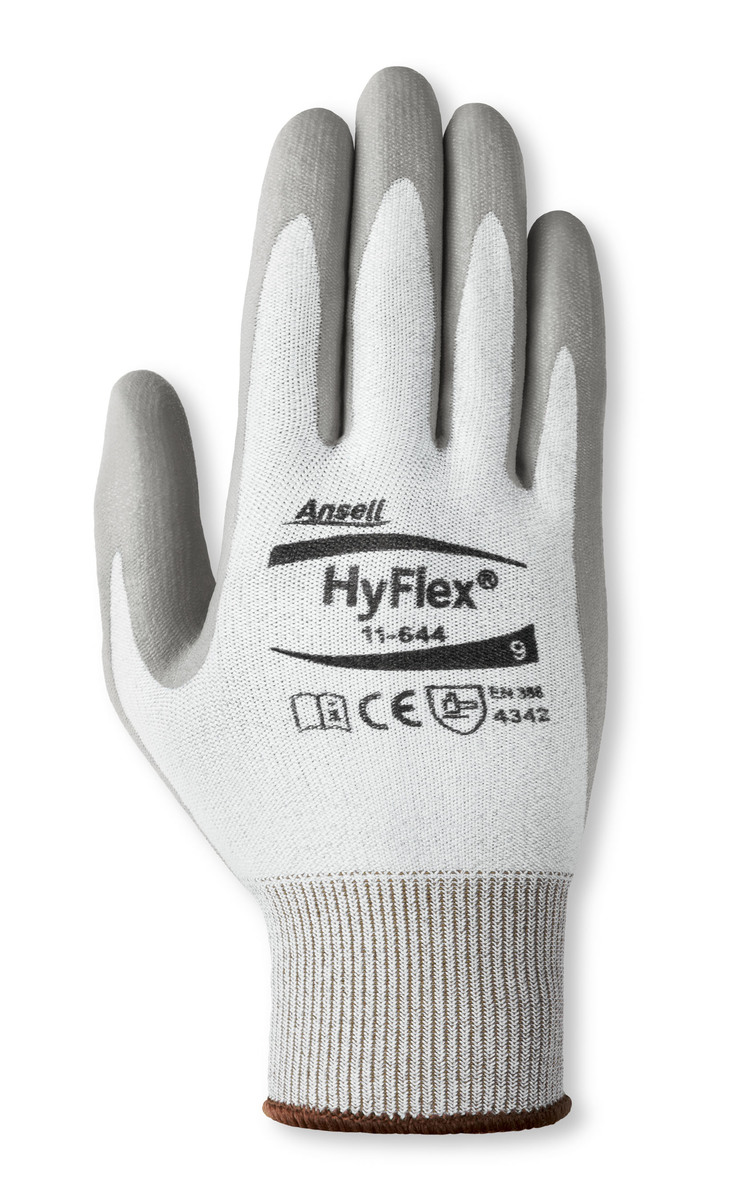 Airgas - ANE11-644-12 - Ansell Size 12 HyFlex 13 Gauge Polyethylene ...