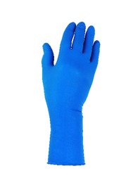 Kimberly-Clark Professional* Small Blue Kleenguard* G29 Solvent 9 mil Silicone-Free Neoprene Blend Powder-Free Disposable Gloves (50 Gloves Per Box)