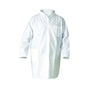 Kimberly-Clark Professional* Medium White KleenGuard* A20 SMS Disposable Breathable Particle Protection Lab Coat/Lab Jacket