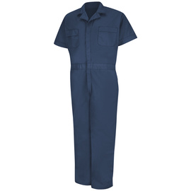 Red Kap® X-Large/Regular Navy 5 Ounce Coveralls With Zipper Closure