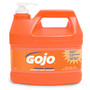 GOJO® 1 Gallon Bottle White NATURAL* ORANGE™ Citrus Scented Heavy Duty Hand Cleaner (Lead time for this product may be longer than normal.)