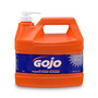GOJO® 1 Gallon Bottle White NATURAL* ORANGE™ Citrus Scented Heavy Duty Hand Cleaner
