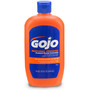 GOJO® 14 Ounce Bottle White NATURAL* ORANGE™ Citrus Scented Heavy Duty Hand Cleaner
