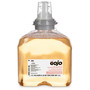 GOJO® 1200 mL Refill Light Amber Fresh Fruit Scented Hand Soap (Lead time for this product may be longer than normal.)