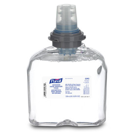 GOJO® 1200 mL Refill Clear PURELL® Fragrance-Free Hand Sanitizer