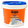 GOJO® 130 Count Bucket Fresh Citrus Scented Heavy Duty Hand Cleaner Towels/Wipes
