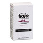 GOJO® 2000 mL Refill Amber E-2 Fragrance-Free Hand Soap