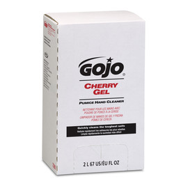 GOJO® 2000 mL Refill Red Cherry Scented Heavy Duty Hand Cleaner (Lead time for this product may be longer than normal.)