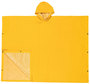 MCR Safety® Yellow Schooner .35 mm Polyester And PVC Poncho With Attached Hood