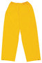MCR Safety® Yellow Classic .35 mm Polyester And PVC Pants With Elastic Waist