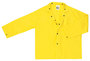 MCR Safety® Yellow Wizard .28 mm Nylon And PVC 2-Piece Jacket With Detachable Hood
