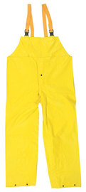 MCR Safety® Yellow Concord .35 mm Neoprene And Nylon Pants With Take Up Snaps On Ankles