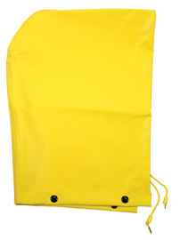 MCR Safety® Yellow Concord .35 mm Neoprene And Nylon Hood With Drawstrings