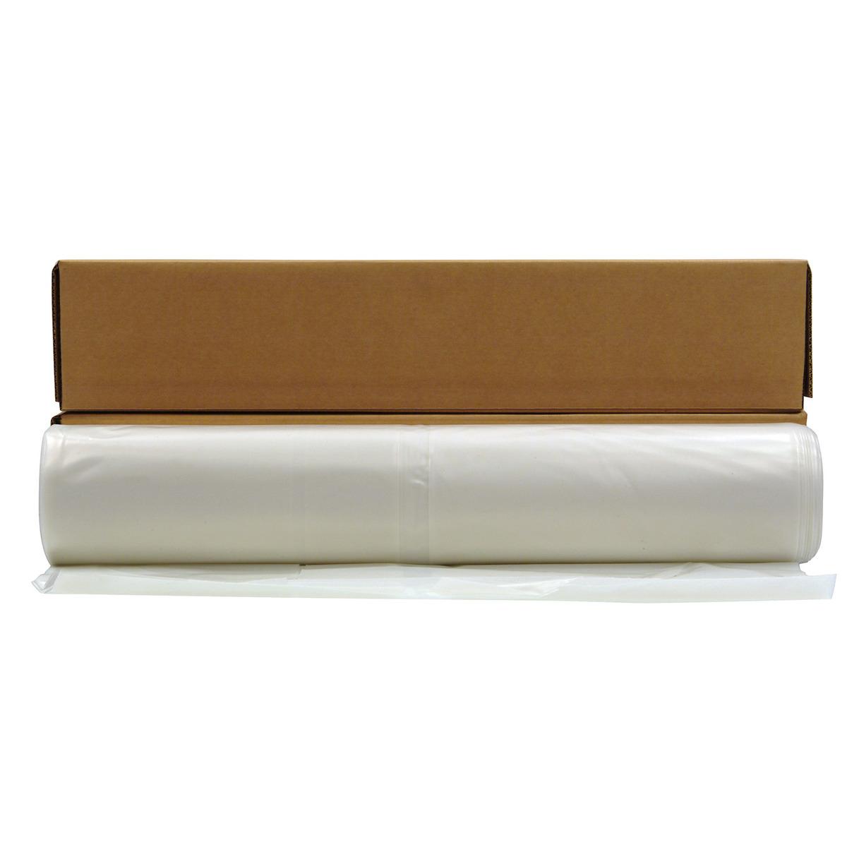 Airgas poly america 20 x 100 clear 4 mil polyethylene husky plastic sheeting publicscrutiny Gallery