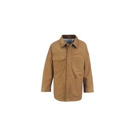 Bulwark® Small Regular Brown Duck Cotton Nylon Duck Flame Resistant Jacket With Concealed Snap Closure