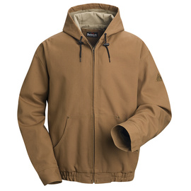 Bulwark® 3X Regular Brown Duck Cotton Nylon Duck Flame Resistant Jacket Cotton Lining