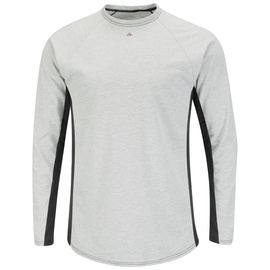 Bulwark® Medium Regular Gray EXCEL FR® Flame Resistant Base Layer T-Shirt