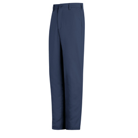 Bulwark® Ladies Size 20 Navy Cotton Flame Resistant Work Pant With Button Closure