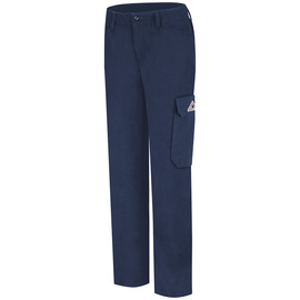 Bulwark® Ladies Size 20 Navy Modacryclic® Lyocell Aramid Flame Resistant Pants With Button Closure