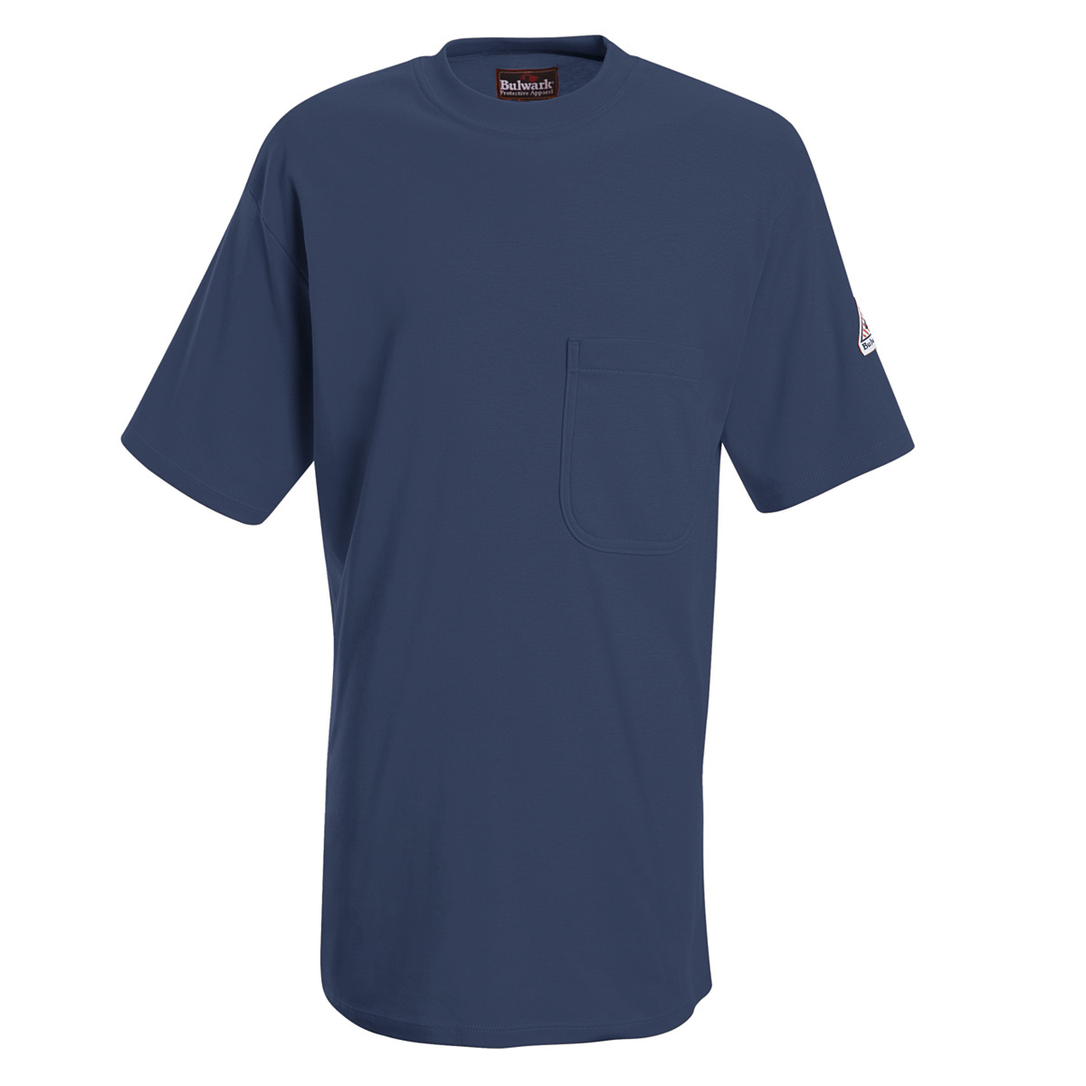 Airgas r30set8nvssll bulwark large tall navy cotton for Bulwark flame resistant shirts