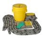 Brady® 20 gal Drum AllWik® Yellow Polypropylene Spill Kit