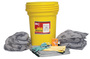 Brady® 30 gal Drum Allwik® Yellow Polypropylene Spill Kit