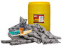Brady® 55 gal Drum AllWik® Yellow Polypropylene Spill Kit